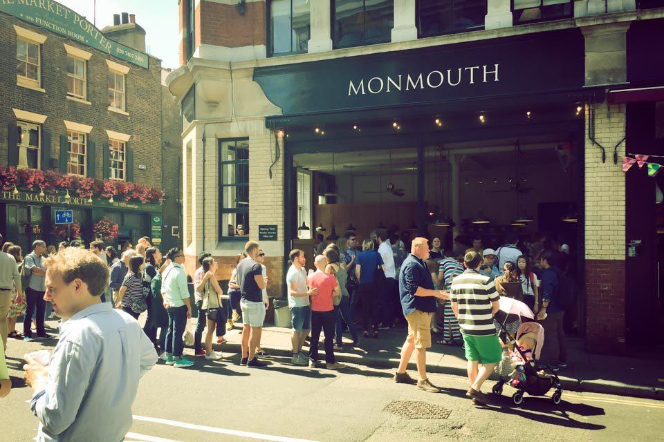学生時代に最もよく通ったモンマスコーヒー バラ・マーケット店
