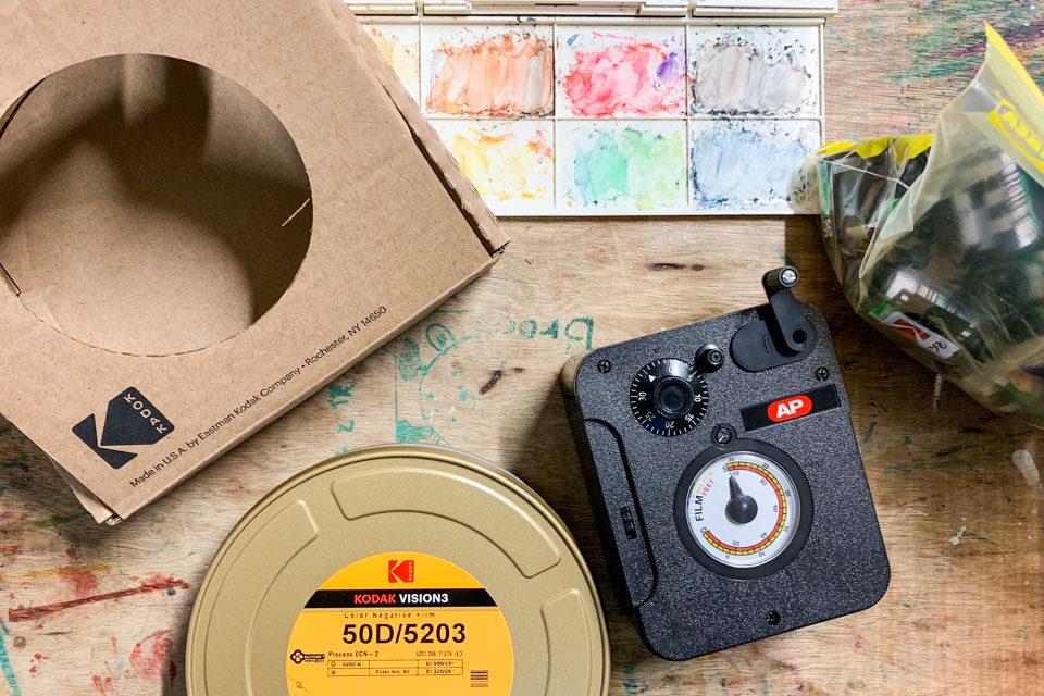 Kodak Vision3 50DとAPのバルクローダー