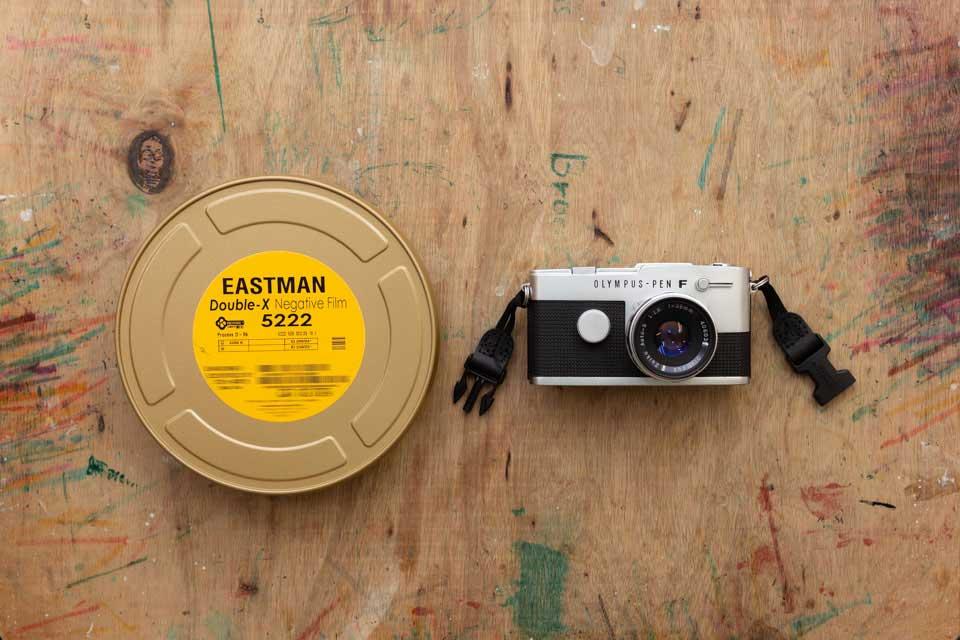 Pen FT F.ZUIKO Auto-S 38mm F1.8 / Eastman Double-X 5222 (D-76)