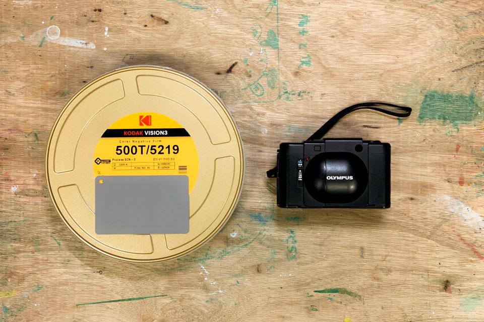 Vision3 500TとOlympus XA